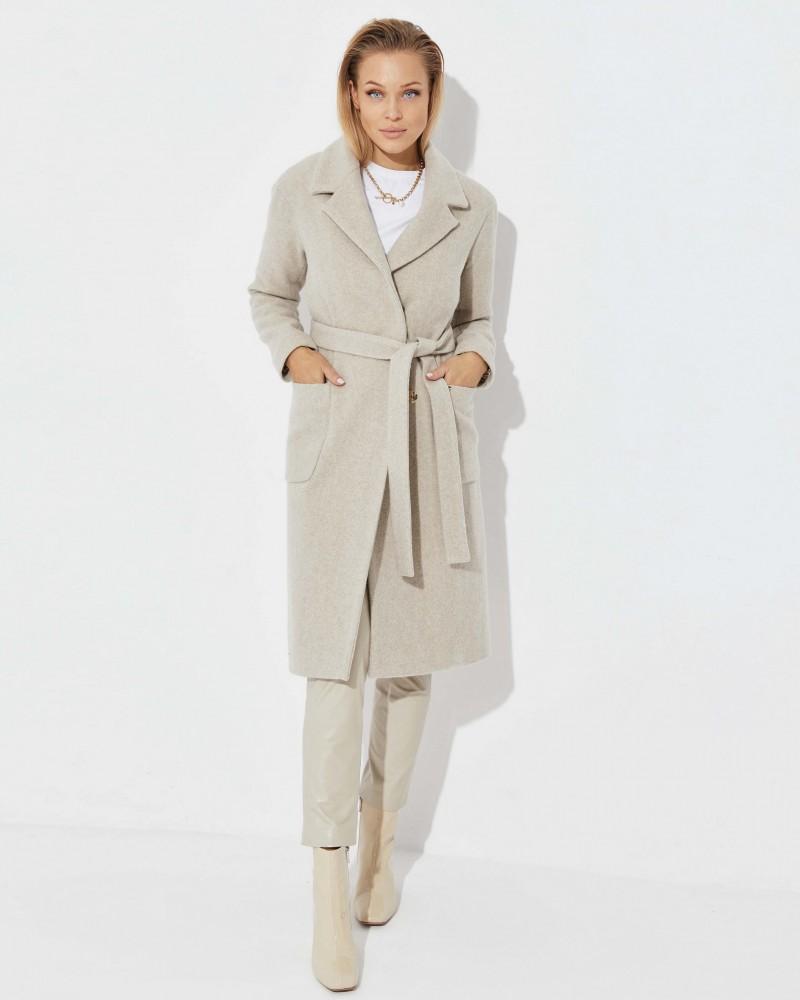 Płaszcz wełniany z kaszmirem