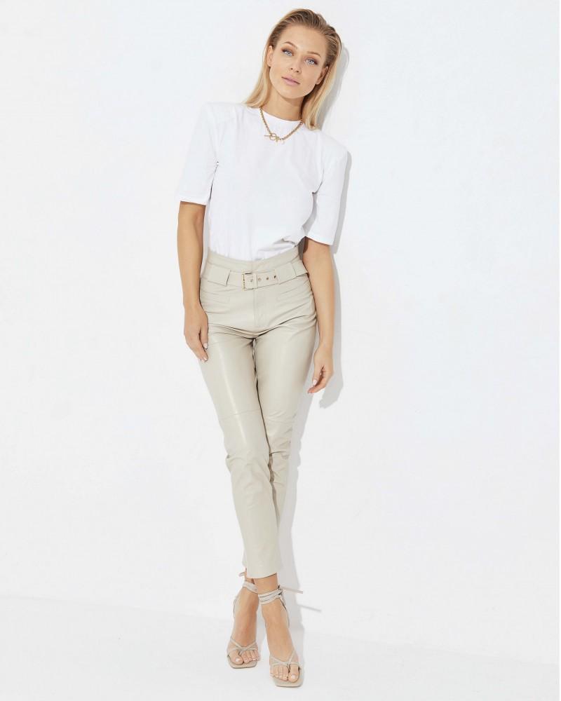 Fantastique FERNANDE spodnie skórzane